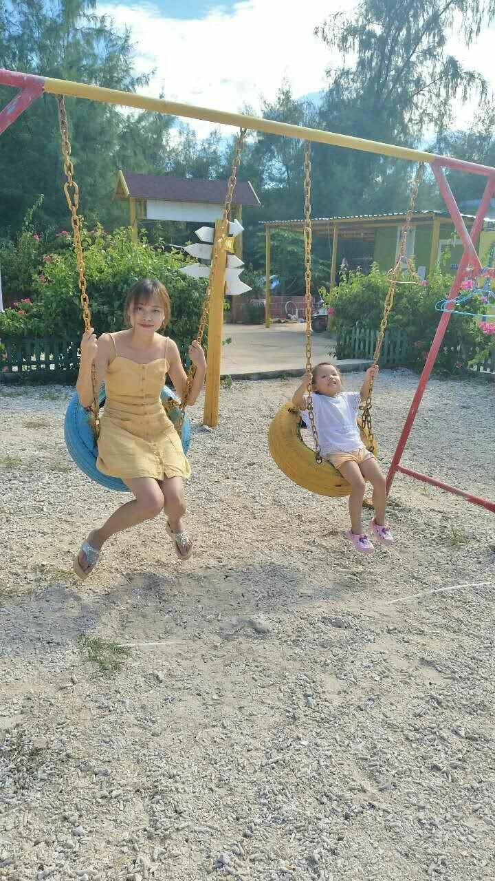 北海涠洲岛美女妈妈女儿母女游记