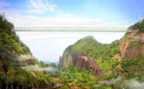广西玻璃桥什么时候竣工 广西玻璃桥有什么特色