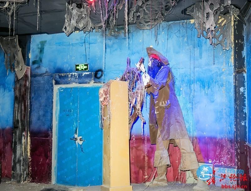 2017武汉欢乐谷万圣节鬼屋图片
