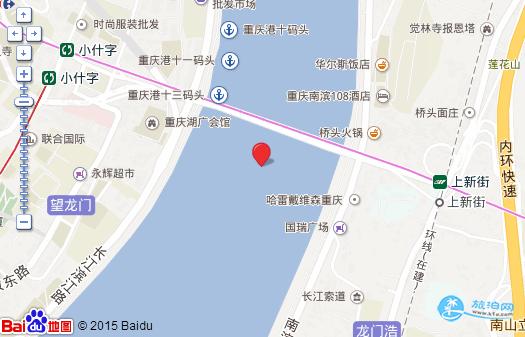 重庆长江索道在哪里坐 重庆长江索道价格