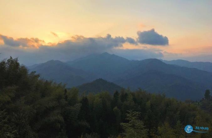 石潭 木梨硔 塔川風景照片