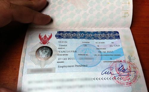 想去泰国旅游怎么办签证