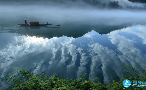 2018郴州小东江迷雾形成原因+最佳观赏时间+拍摄地点