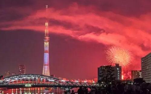 日本花火大会开始时间2018