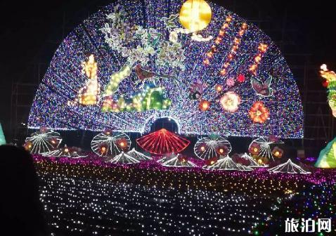 2018顺义魔幻灯光节什么时候结束