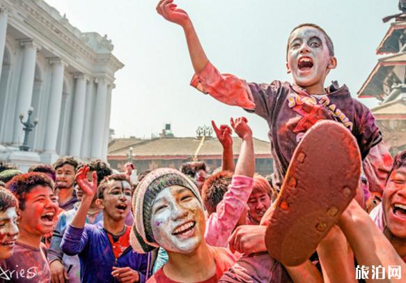 尼泊尔洒红节怎么拍照