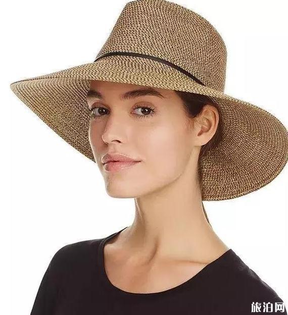 夏天旅游草帽搭配指南