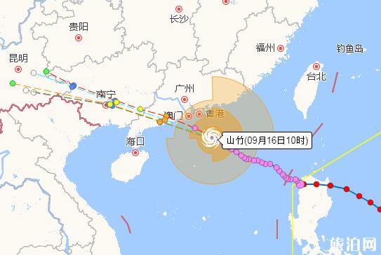 台风山竹会影响哪些城市 2018因台风山竹暂时关闭的景区有哪些