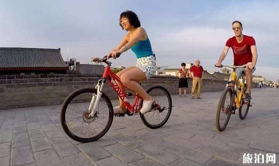 在西安古城墙骑行几点去比较好