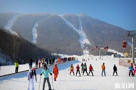 2018國內滑雪場有哪些好玩的