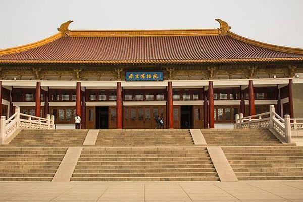 南京博物院导览图 南京博物院地图