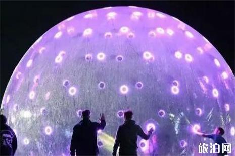 第四届韩城国际灯光艺术节 持续时间+效果图