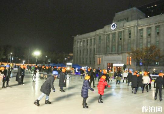 2019首尔广场滑冰场开放时间+地址+门票价格