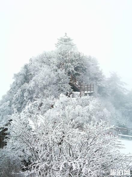 梵净山雪景风景图 梵净山冬天会封山吗 梵净山什么时候下雪