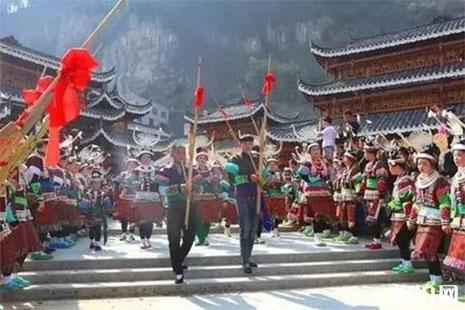 贵州凯里舟溪镇2019芦笙节2月19日开启