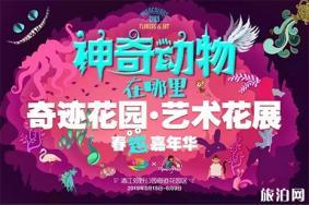 2019上海奇迹花园春季艺术花展 门票+游玩攻略