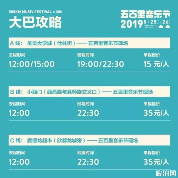 2019五百里音乐节昆明站时间+门票+阵容+交通