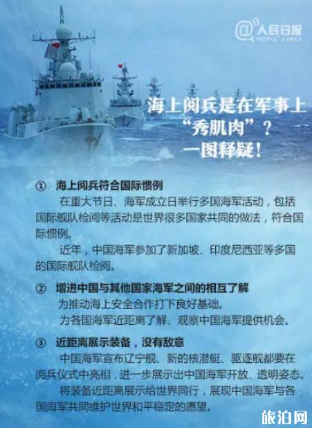 2019青岛海上阅兵时间+地点+直播入口
