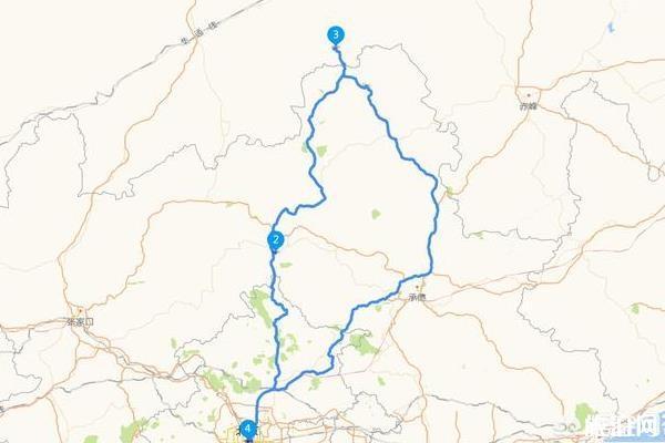 从北京到乌兰布统自驾路线