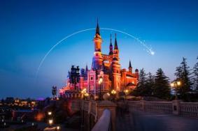上海迪士尼烟花最佳观赏地点