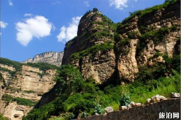 太行山大峡谷两日游玩 八泉峡+红豆峡+青龙峡
