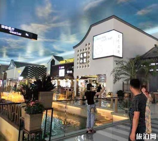 苏州阳澄湖高速服务区网红景区