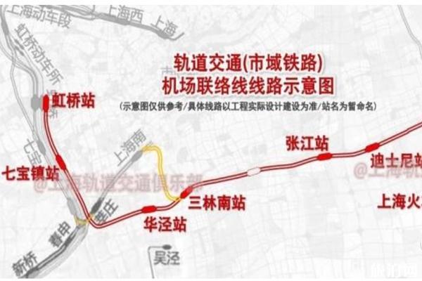 上海机场联络线开始建设 预计2024年完工