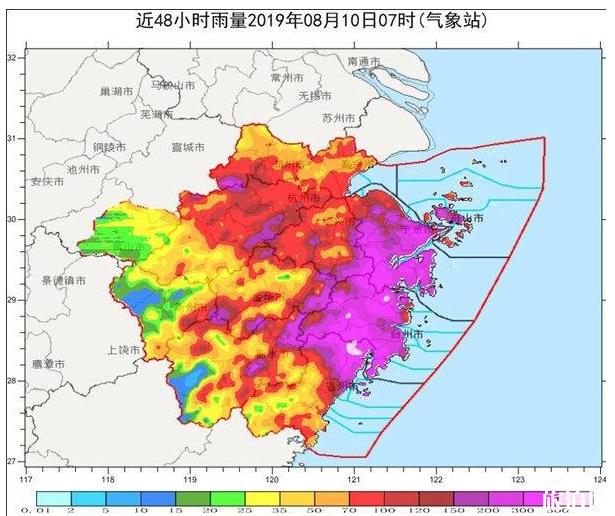 利奇马台风会登陆山东吗 2019山东暴雨易积水路段+未来天气