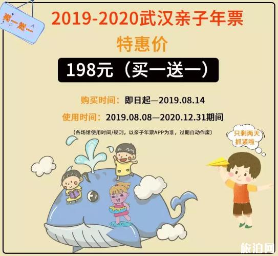 2019-2020武汉亲子年票价格+景点名单+常见问题