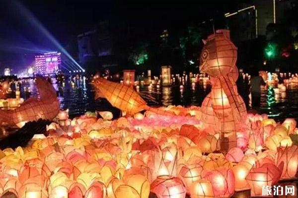 桂林资源河灯歌节2019时间+活动内容+介绍