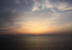 灵山岛日出照片灵山岛日出日落照