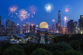 2019深圳国庆焰火