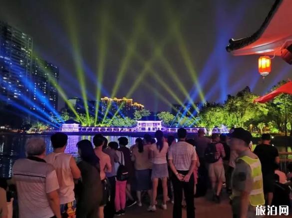 10月9日、11日廣州荔枝灣燈光秀暫停通知