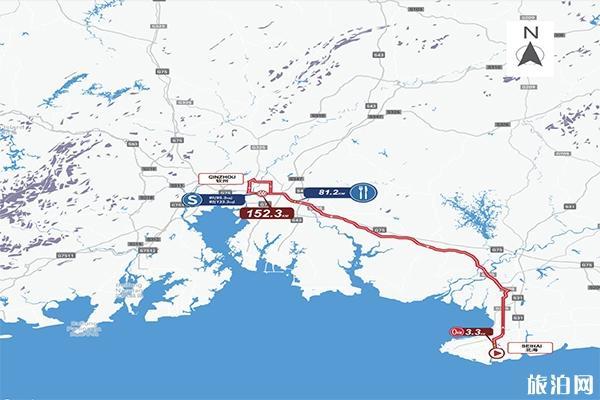 2019環廣西自行車賽事有哪些參賽隊伍 附北海至欽州路線圖