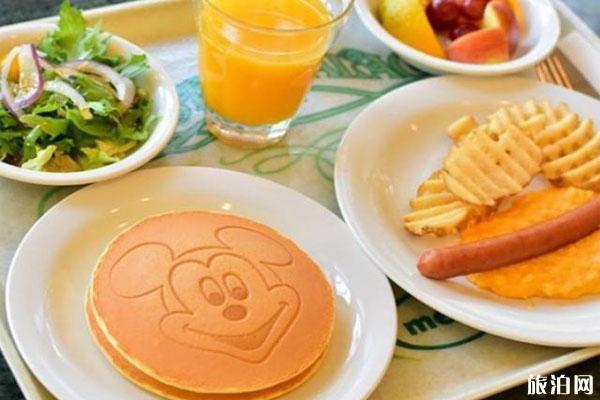 东京迪士尼饭菜价格+介绍