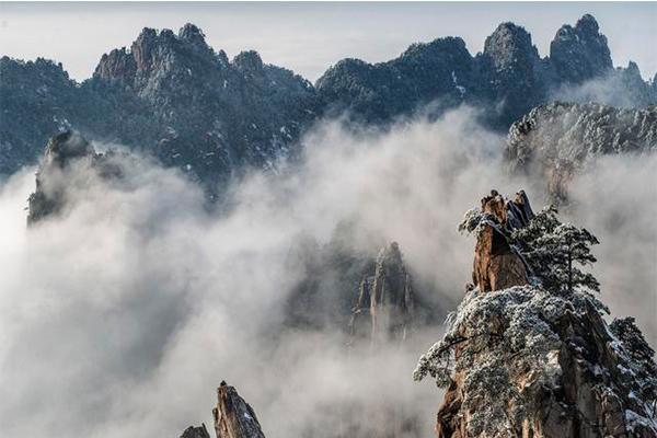 黃山拍日出最佳拍攝地點 黃山拍攝指南