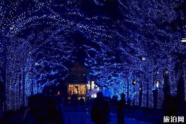 日本福冈灯光秀持续至明年1月7日 附日本其它灯光秀信息