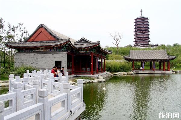 中國園林博物館 中國園林博物館游玩攻略 中國園林博物館附近吃飯的地方