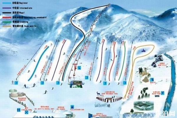 昌平軍都山滑雪攻略 門票+住宿+滑道介紹