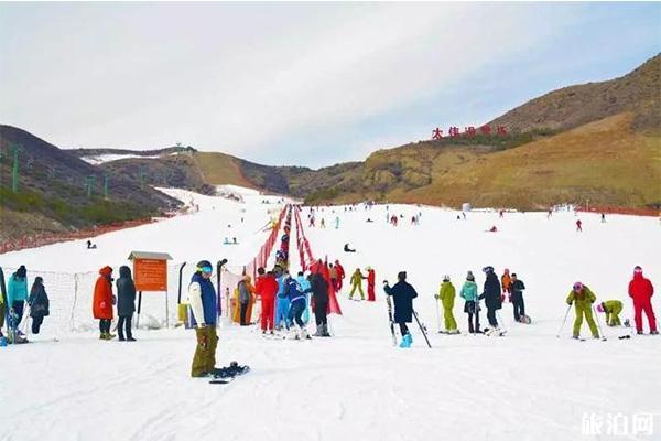 太伟滑雪场11月23日开滑 附开放雪道