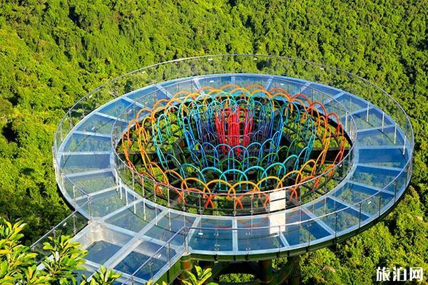 亚龙湾热带天堂森林公园哪个景点好玩