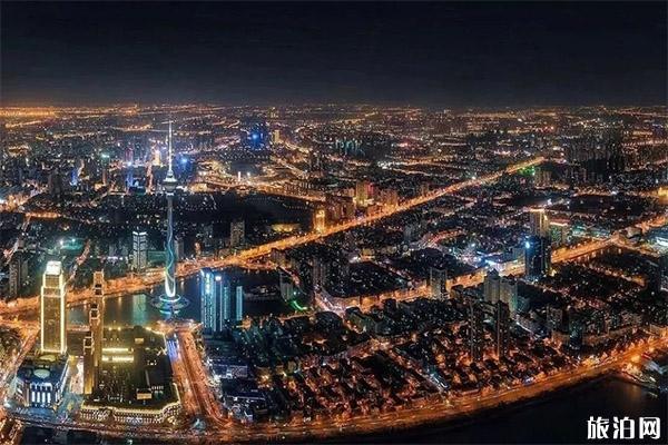 2020天津跨年元旦天塔燈光秀幾點開始
