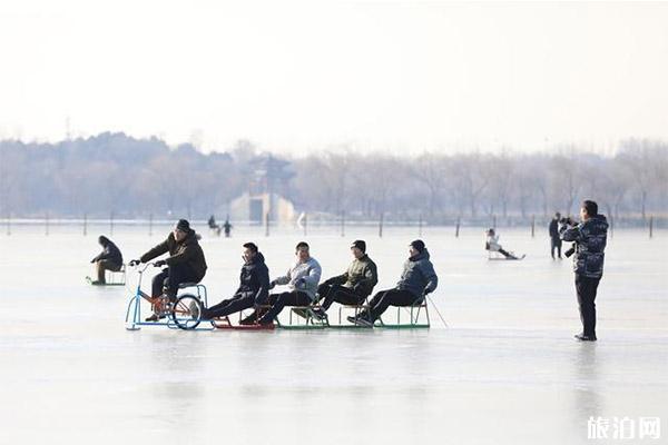 2020頤和園昆明湖冰場開放日