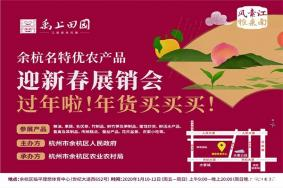 2020杭州年货展销会哪里有 展销会信息汇总