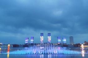 2020康巴什喷泉广