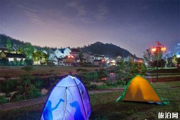 南京适合晚上露营的地方 南京乡村露营地推荐