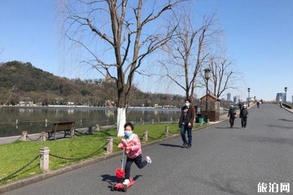 杭州西湖景區有序恢復開放