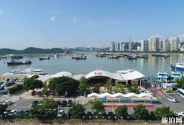 珠海香洲港码头恢复航班时间及航线