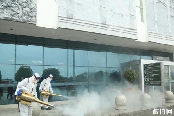 湖北宜昌三峡机场全面消杀 解封了吗