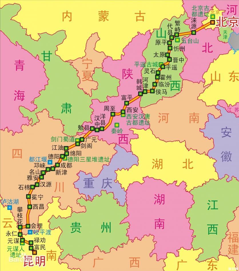 108國道沿途有哪些景點